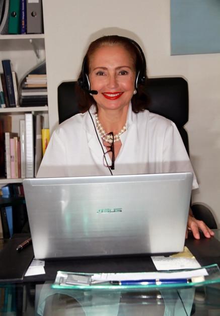 Le docteur Bergeret Galley peut vous recevoir au cabinet en consultation avec Skype